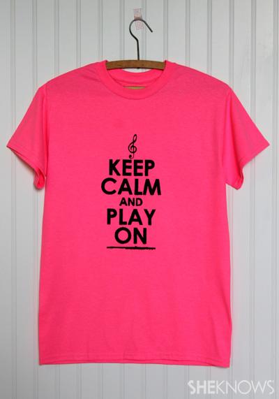 Design a professional-quality T-shirt