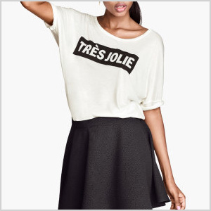 H&M Graphic tees