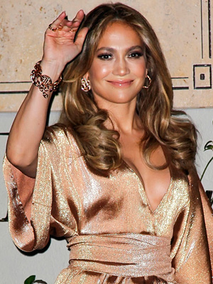 Jennifer Lopez Statement bracelet