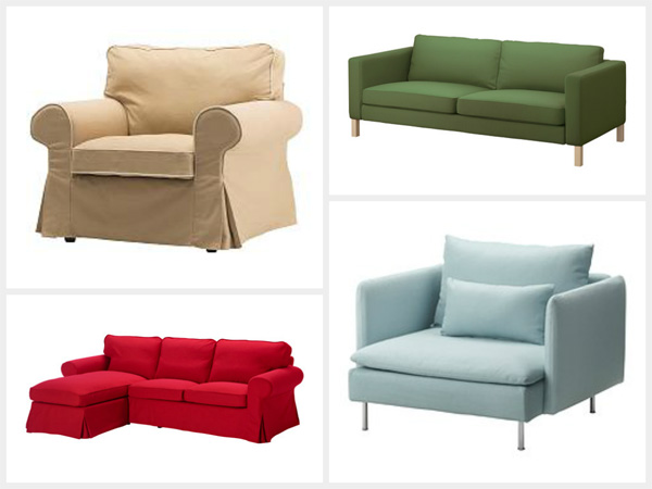 IKEA chair and sofa selection
