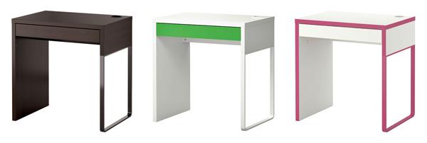 Assorted Micke desks