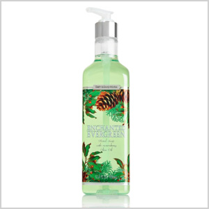 Enchanted Evergreen hand soap