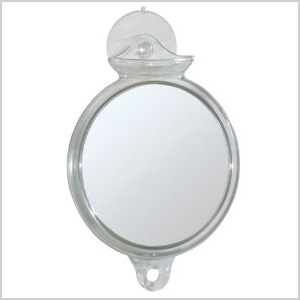 Fog Away Suction Mirror