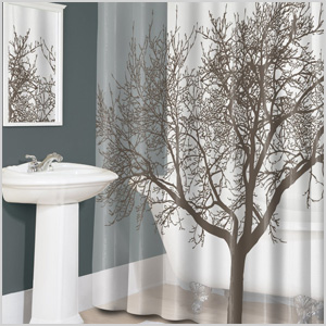 Splash Home Tree shower curtain