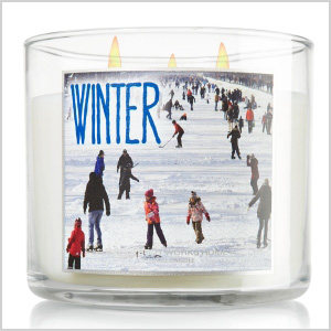 Winter 3-Wick Candle
