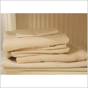Natural Mat Soft Organic Flannelette crib sheets