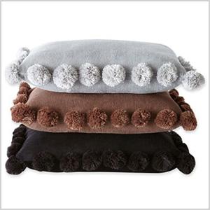 Scene Weaver Pom Pon pillows