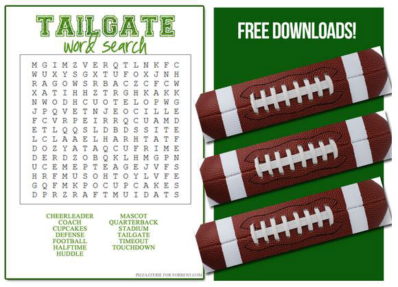 Football word find