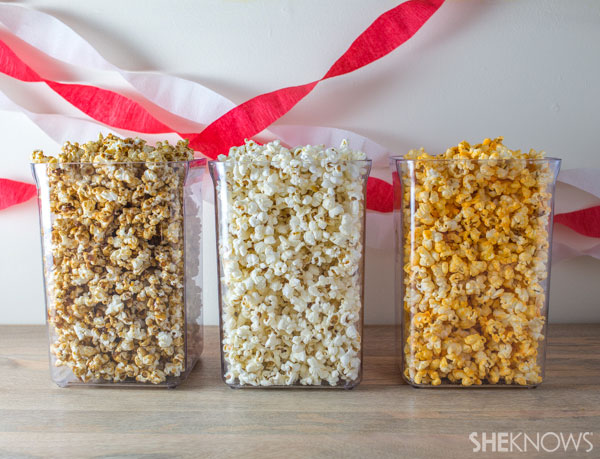 Create a custom popcorn buffet   SheKnows