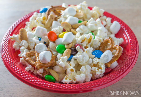 Mix-and-match popcorn activity