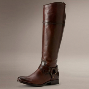Frye Melissa Harness Zip Boot