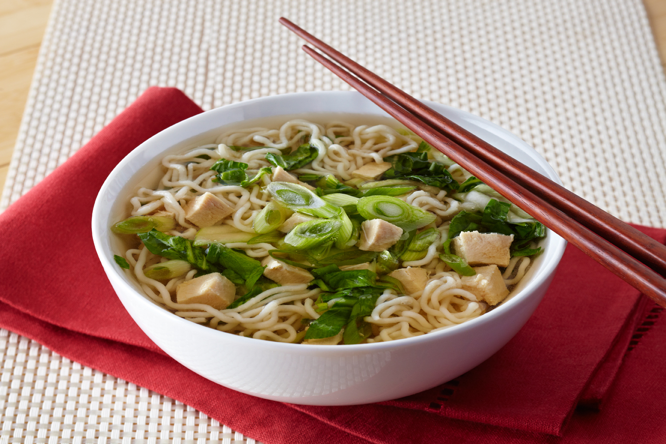 New Year Noodle Soup Recipe — Dishmaps