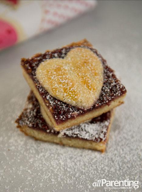 allParenting Linzer Torte Bars