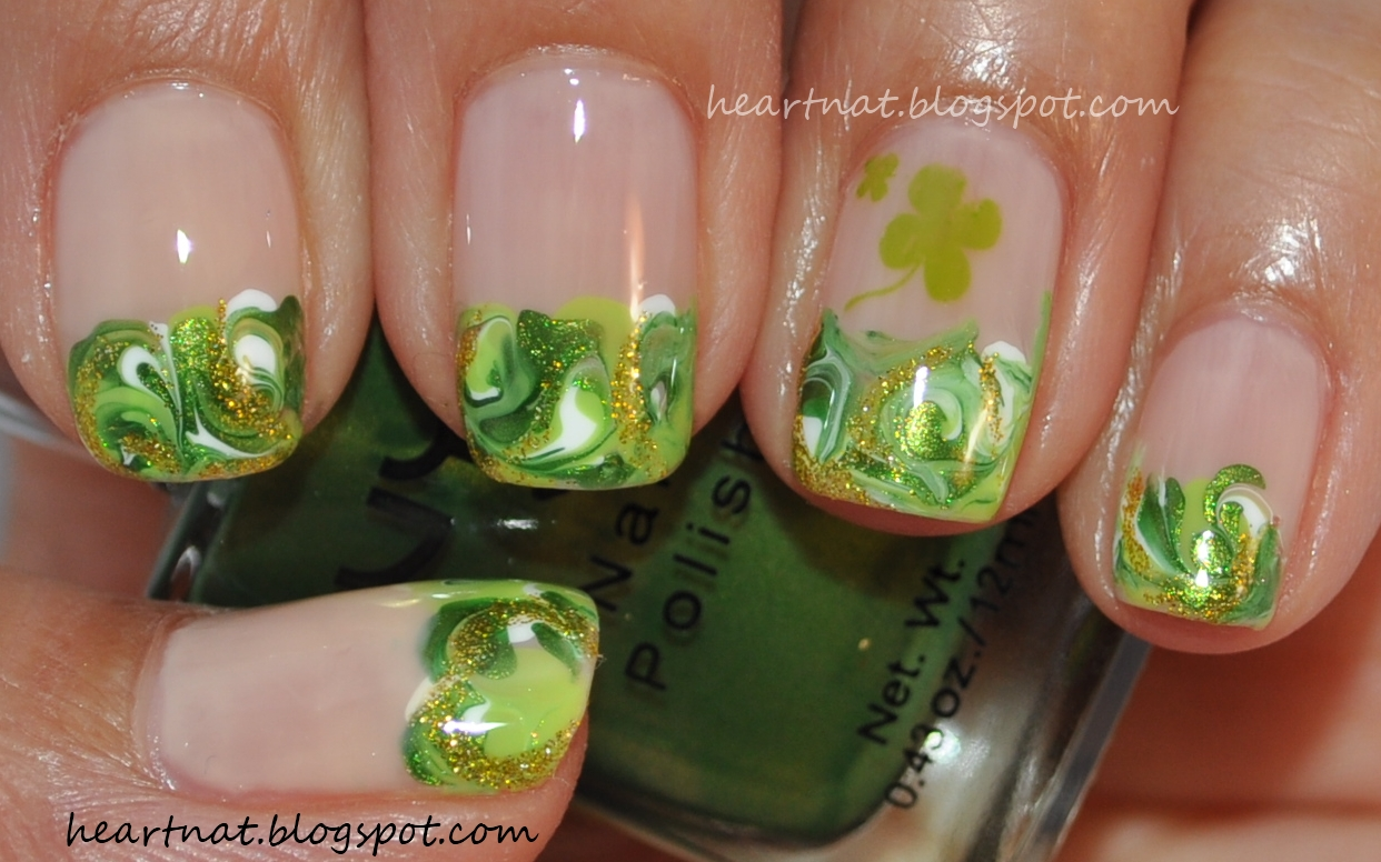 St. Patrick\'s Day nails to try