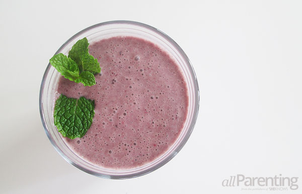 allParenting antioxidant super smoothie