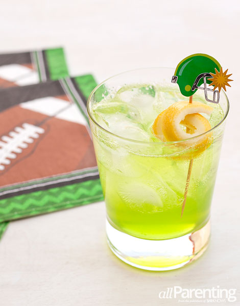 allParenting Super bowl 2014 Screamin' Seahawks cocktail