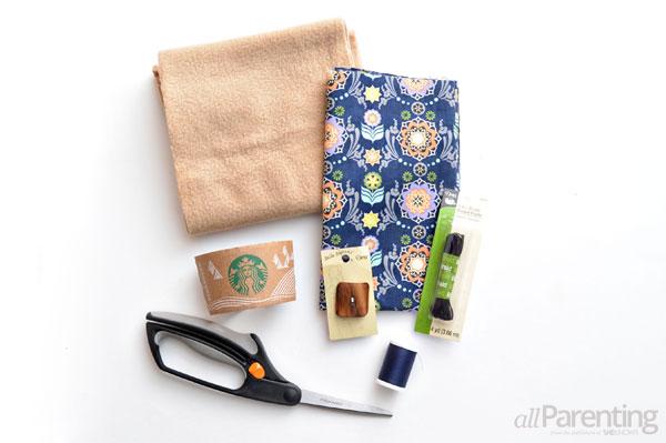 allParenting coffee cozy materials