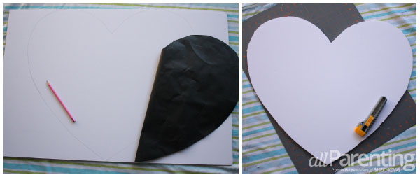 allParenting heart marquee step 1