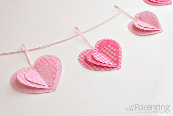how to make heart of paper