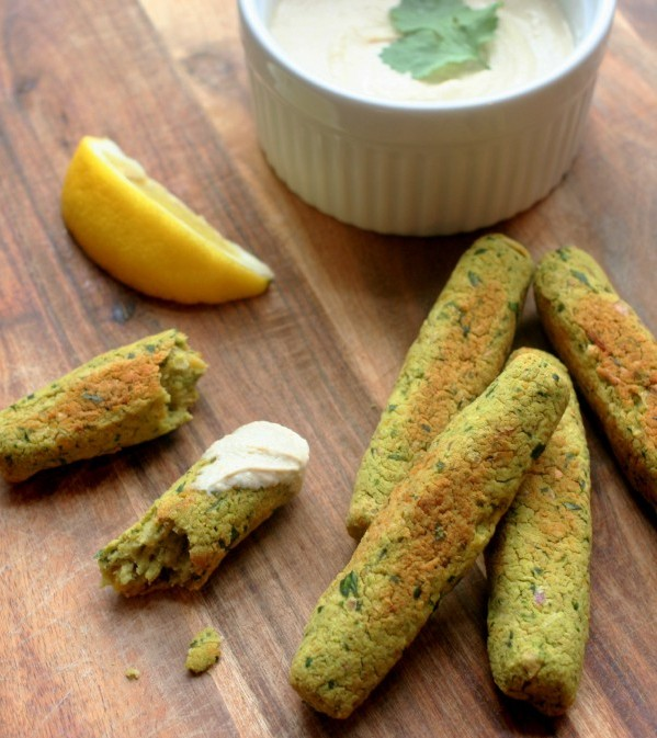 Baked Falafel Finger Food