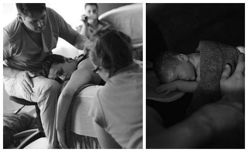 Jennifer Salome waterbirth