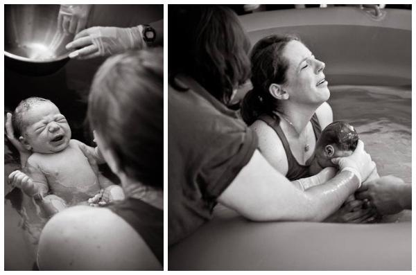 Sarah Reinhart waterbirth