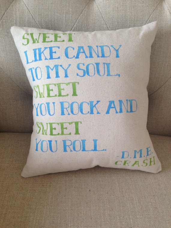 Dave Matthews Band quote pillow cover