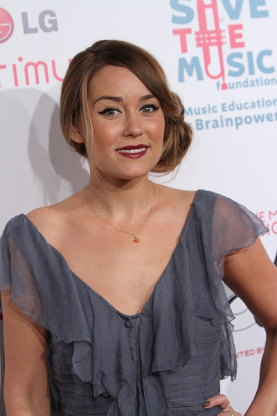 Lauren Conrad's knotted hairstyle
