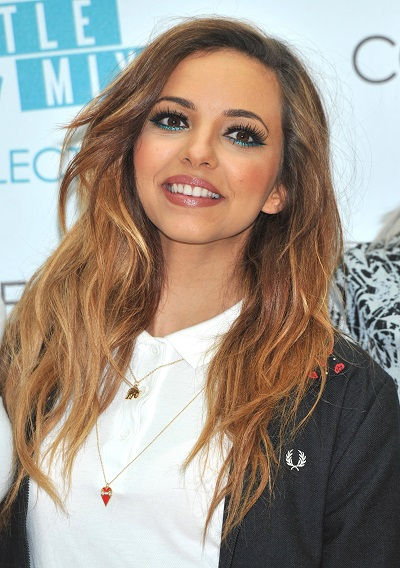 Jade Thirwallwearing one color under eye makeup