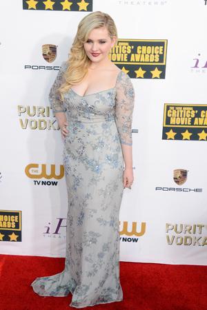 Abigail Breslin at the Critics Choice Awards