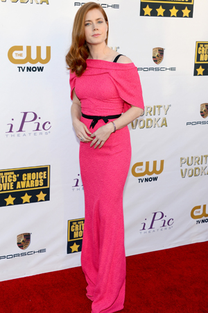 Amy Adams at the Critics Choice Awards