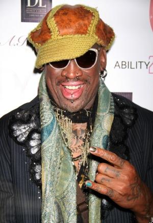 Rodman's reason for rehab