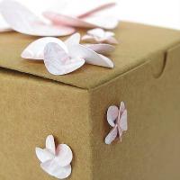 Paper petal flowers