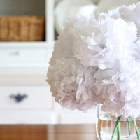 Tissue bouquet