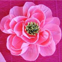 Crepe flowers