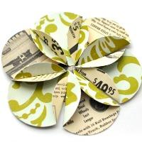 Paper flower circles