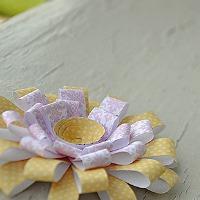 Chrysanthemum paper flower