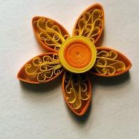Royal paper flower