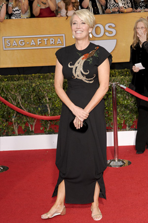 Emma Thompson at the 2014 SAG Awards