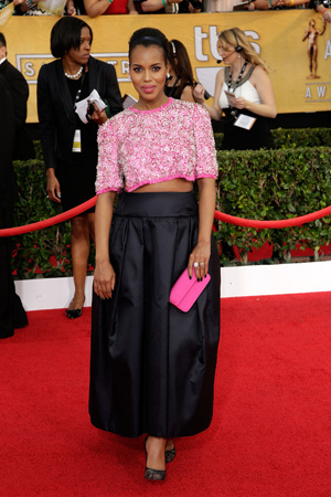 Kerry Washington at the 2014 SAG Awards