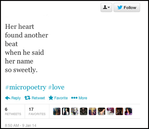 25 Poetic tweets from die-hard romantics