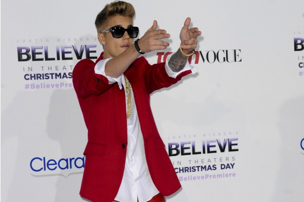 Bieber's Hollywood frenemies