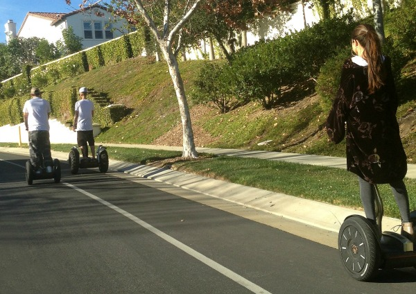 Was it a Segway date or something more?