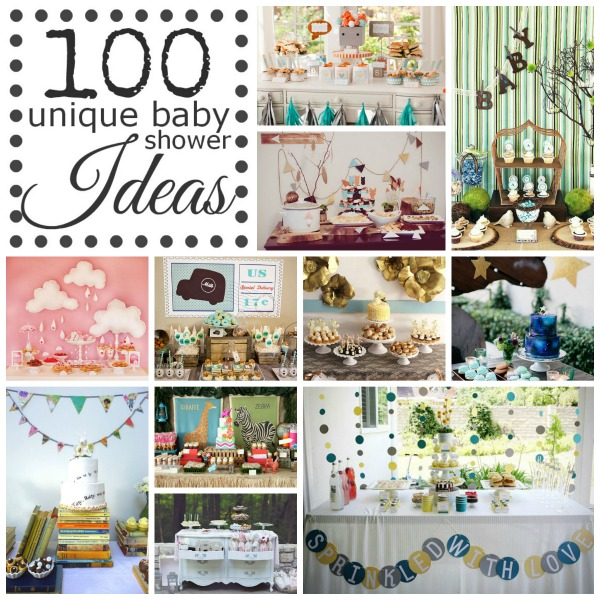 100 unique baby shower themes