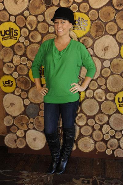 Pregnant Kendra Wilkinson at Sundance
