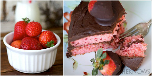 Over The Top Chocolate Strawberry Valentine S Day Cake