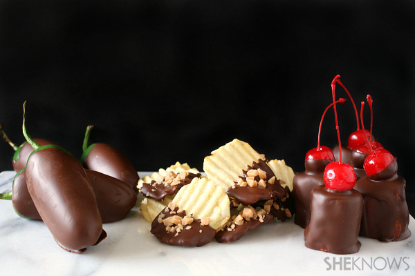 3 Chocolate covered treats for Valentine's Day