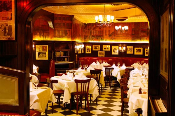 New York's most romantic restaurants
