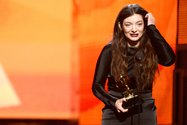 Lorde vamps it up