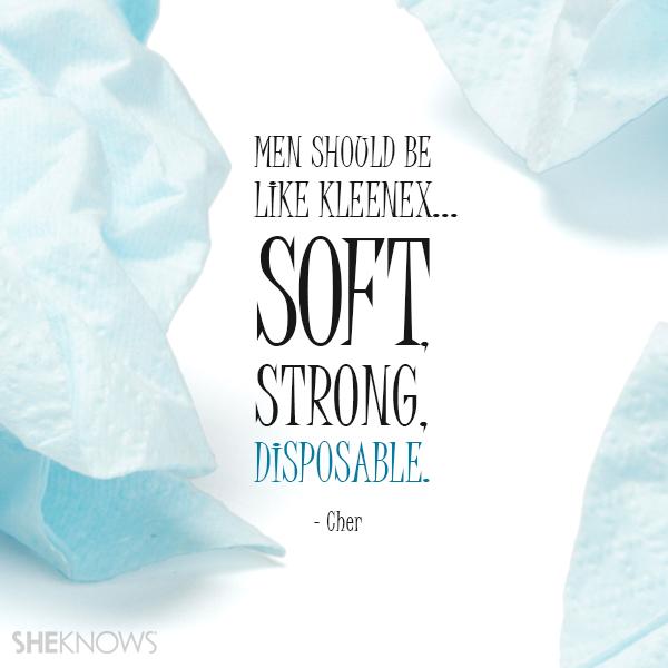 Cher love quote